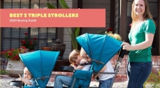 Best 5 Triple Strollers 2020: A Buying Guide